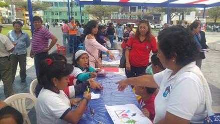 Chimbote: niños con habilidades especiales participan en concurso de pintura