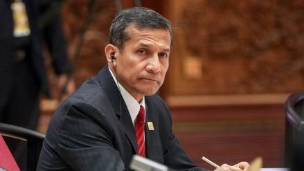 Ollanta Humala solo podrá realizar viajes con autorización judicial