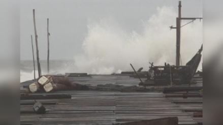 Advierten oleajes de moderada a fuerte intensidad en litoral