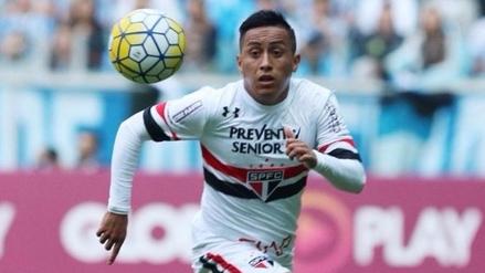 La 'joya' del equipo: Sao Paulo le puso precio al peruano Christian Cueva