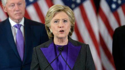 Hillary Clinton culpa al FBI de su derrota frente a Donald Trump