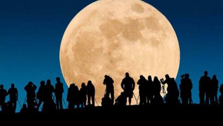 Prepárate para la Superluna de este lunes