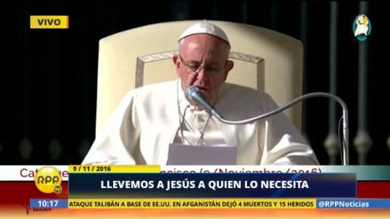 El mensaje del Papa Francisco sobre la misericordia a los encarcelados y enfermos