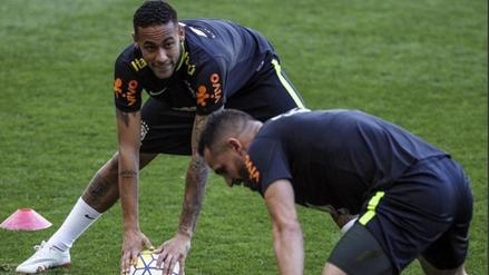 Brasil retomó los entrenamientos con Neymar a la cabeza