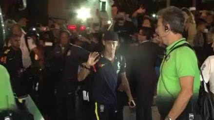 Brasil llegó a Lima con miras al partido frente a Perú