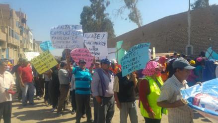 Chiclayo: obreros de JLO acatan paro de 48 horas y amenazan con huelga
