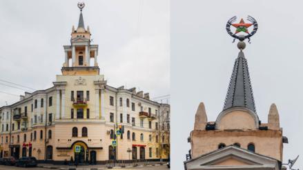 Facebook: monumento soviético es convertido en un personaje de 'Bob Esponja'