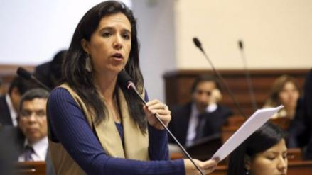 Marisa Glave dice que bancada del Frente Amplio no se romperá