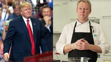 Facebook: un chef sueco fue agredido por su parecido con Donald Trump