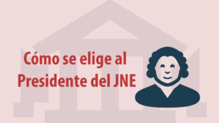 ¿Quiénes eligen al presidente del Jurado Nacional de Elecciones?