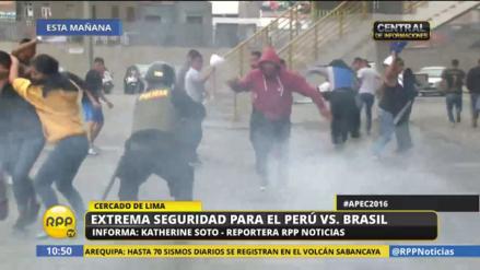 Alrededor de 1,500 policías resguardarán calles para el partido Perú-Brasil