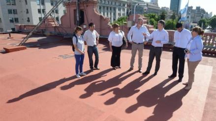 La Casa Rosada transformará su histórico helipuerto en una huerta