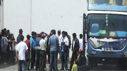 Barranca: policía de civil mató a delincuente durante asalto a bus interprovincial