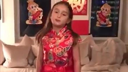La pequeña nieta de Donald Trump se gana el cariño de toda China
