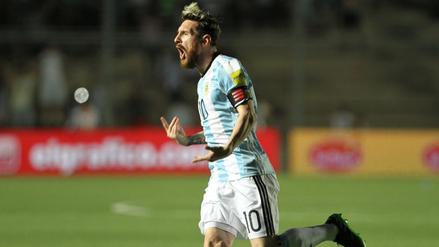 Lionel Messi marcó un golazo de tiro libre frente a Colombia