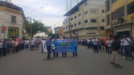 Trabajadores administrativos de UNP acataron paro de 24 horas