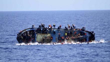 Cientos de inmigrantes desaparecen al naufragar un bote en el Mediterráneo