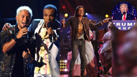 Los Latin Grammy celebran su gran fiesta bajo la sombra del triunfo de Trump