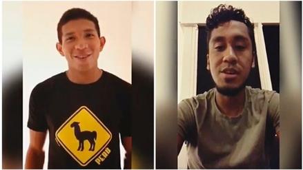 Renato Tapia y Edison Flores mandan mensaje de aliento previo al partido ante Brasil