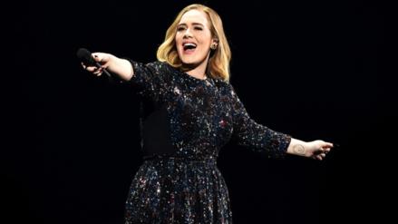 Adele entró en pánico por murciélago durante su concierto
