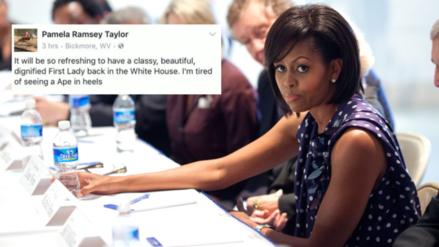 Facebook: un comentario racista contra Michelle Obama le cuesta puesto a alcaldesa