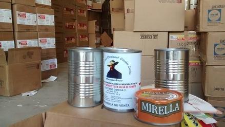 Chimbote: conservas de programas sociales eran vendidas en mercados