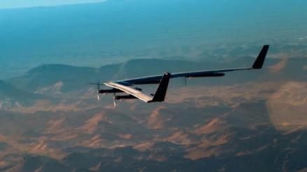 Facebook presenta el dron que llevará conexión de internet a zonas alejadas