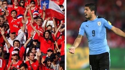 Hinchas chilenos acusan de gesto obsceno a Luis Suárez y piden sanción