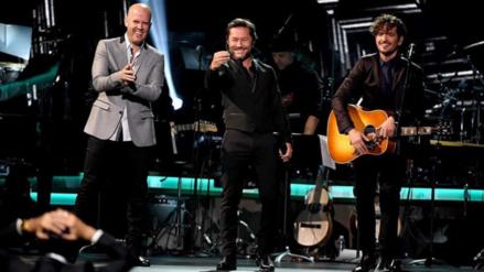 Latin Grammy: Gian Marco cantó tema de Marc Anthony