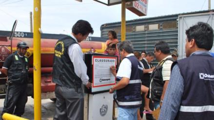 Osinergmin suspendió a grifos y cisternas abastecedoras de combustible