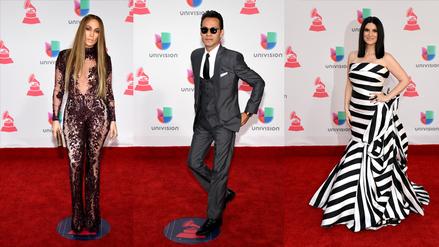 Latin Grammy: lo que vistieron los famosos en la alfombra roja