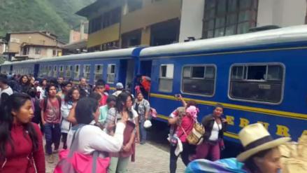 PeruRail reanuda salida de trenes hacia Machu Picchu