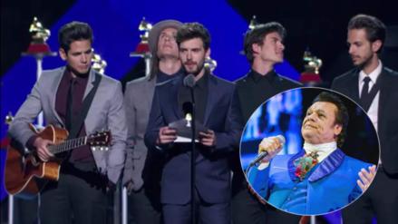 Latin Grammy: cometen error durante entrega de premio a Juan Gabriel