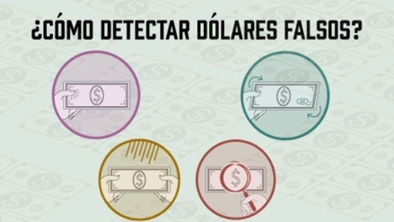 Aprende a reconocer billetes de dólares falsos