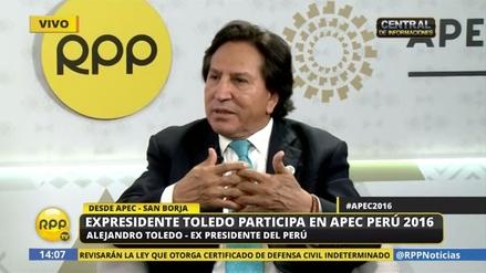"""Alejandro Toledo: """"La elección ya terminó, dejemos atrás las venganzas"""""""
