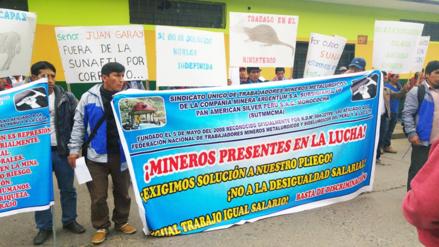 Huancayo: trabajadores de Argentum denuncian discriminación salarial