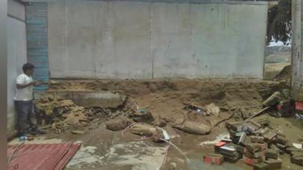 Piden ayuda para centro inicial cuya pared colapsó en Ventanilla