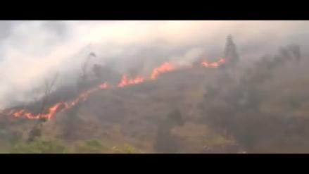 Chotanos usan redes sociales para informar de incendios forestales