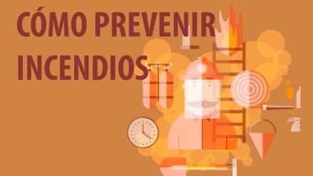 Aprende a prevenir incendios en el hogar