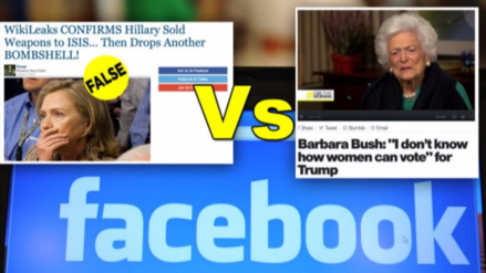 Escritor de noticias falsas en Facebook: