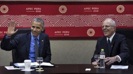 Kuczynski conversó con Barack Obama durante la cumbre APEC 2016