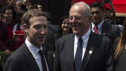 Las mejores fotos de la reunión entre PPK y Mark Zuckerberg