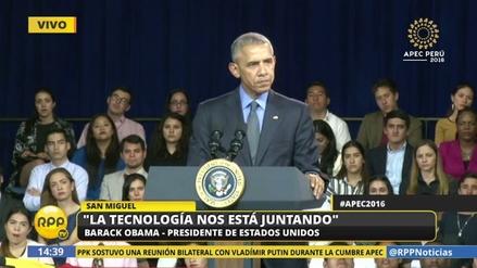 """Barack Obama en la PUCP: """"Los países de América somos más que vecinos"""