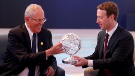 Los tres puntos claves de la reunión entre PPK y Mark Zuckerberg