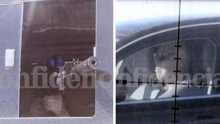 Francotirador tuvo en la mira de su rifle a la plantilla del Real Madrid