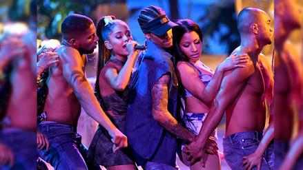 AMAs: Ariana Grande y Nicki Minaj explotan Los Ángeles de sensualidad
