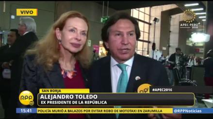 """Alejandro Toledo: """"La relación entre EE.UU. y América Latina no cambiará"""""""
