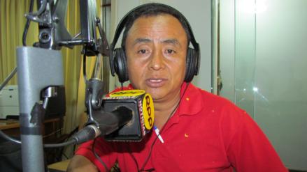 Gregorio Santos llegó a Juliaca para impulsar nueva Constitución Política