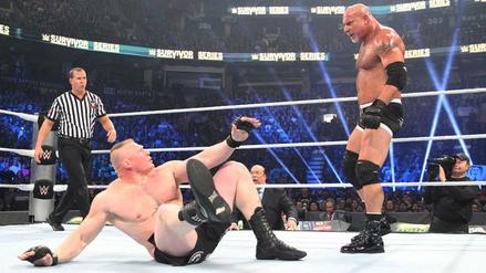 Goldberg firmó con la WWE y estará presente en Royal Rumble 2017