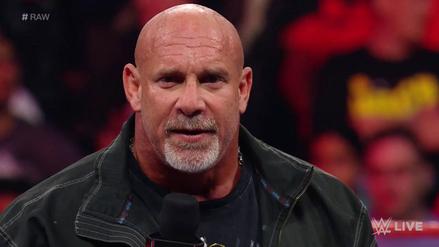 Goldberg quiere ser campeón y confirmó que peleará en Royal Rumble